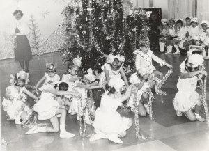 Детский сад «Колокольчик». 1984 год. Новогодний утренник.