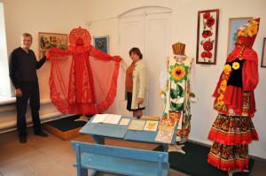 Выставка посвящённая 60-летию Сосенского