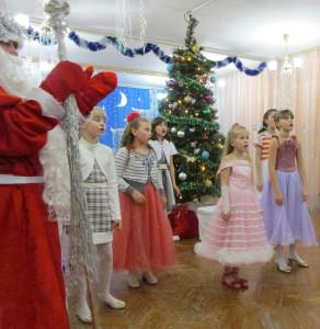 Новый год в «Ровеснике» г. Сосенский