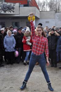 Активистка, спортсменка ипросто красавица— Софья. 55 подъёмов!