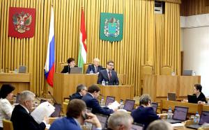 Заседание Заксобрания Калужской области