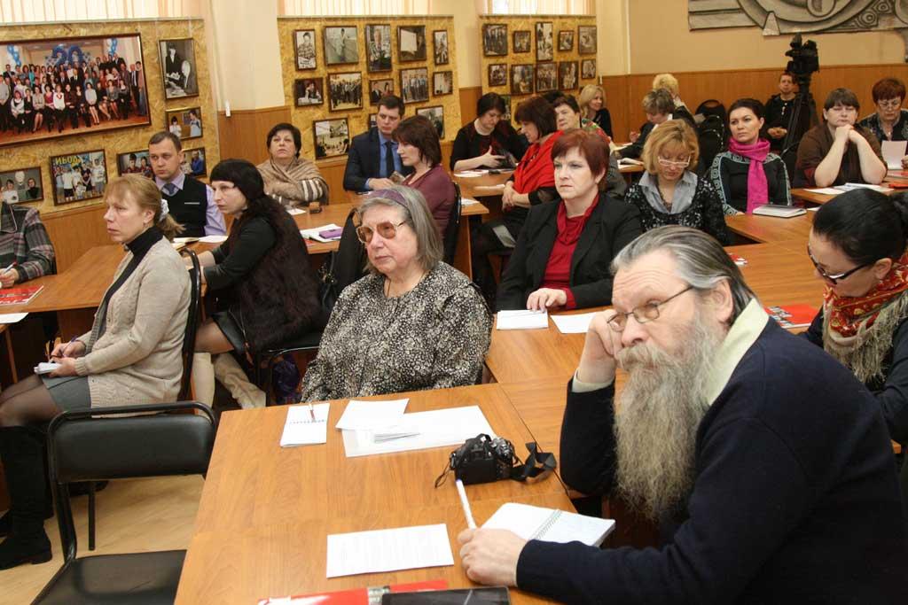 Руководители районных отделений Калужского общества «Знание»