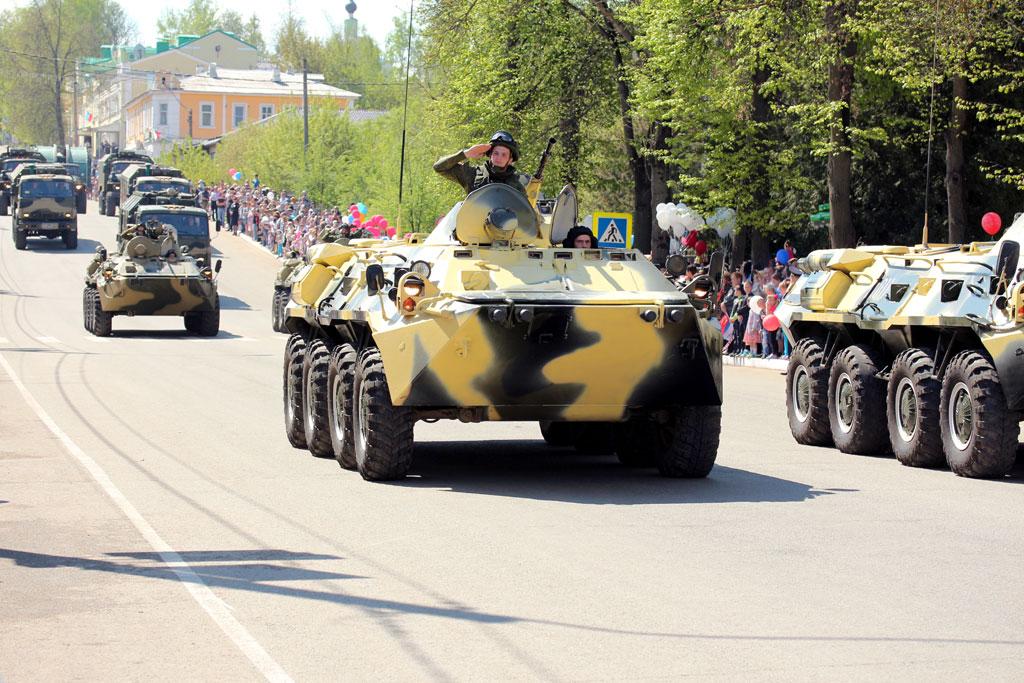 Parad-BTR
