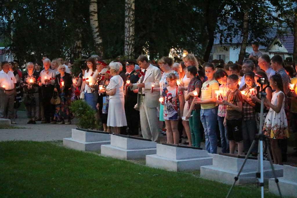 «Свеча памяти» Козельск 2016