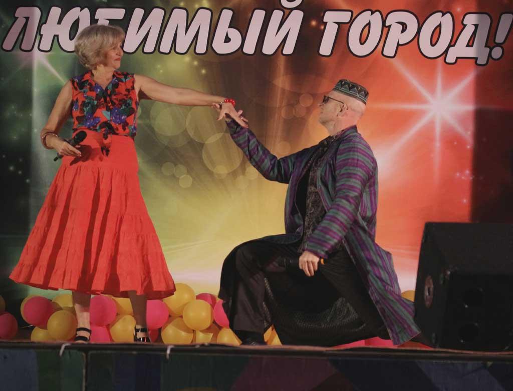 Козельские гости Евгений и Галина Белых