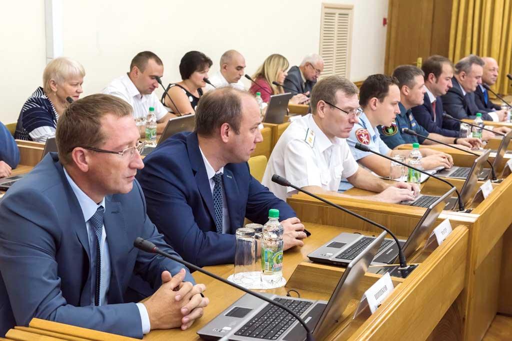 Калуга. Заседание кабинета министров