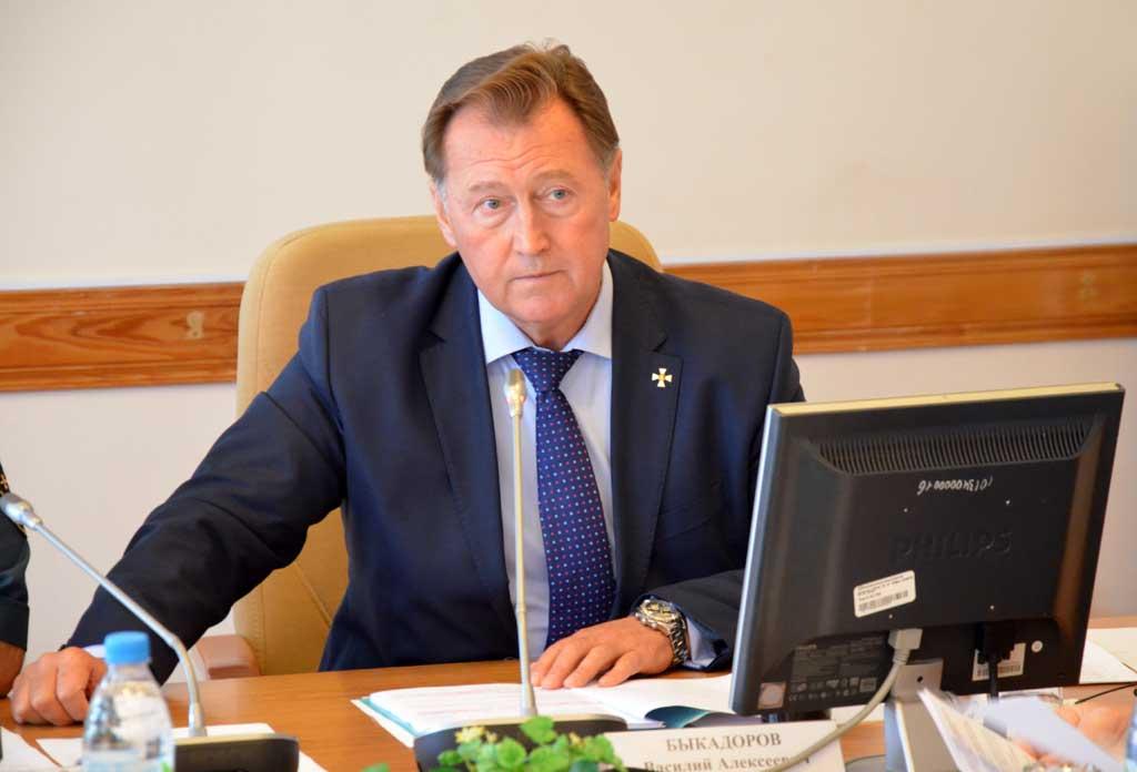 заместитель губернатора Василий Быкадоров