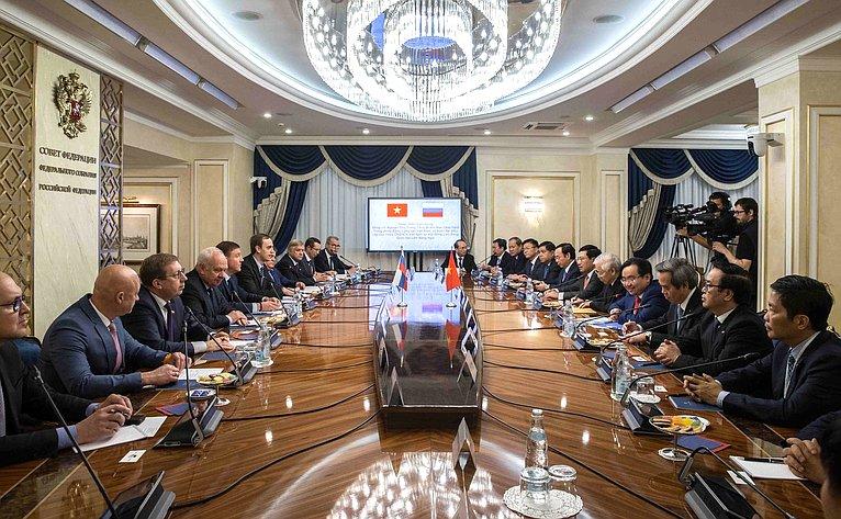 встреча с Генеральным секретарем ЦК Компартии Вьетнама Нгуен Фу Чонгом