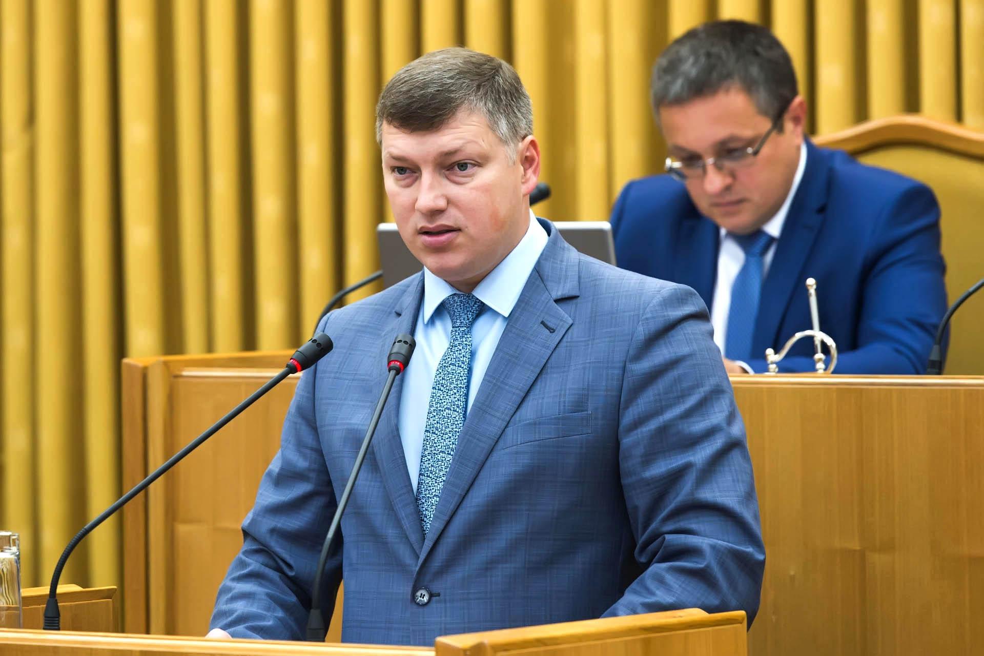 выступление министра