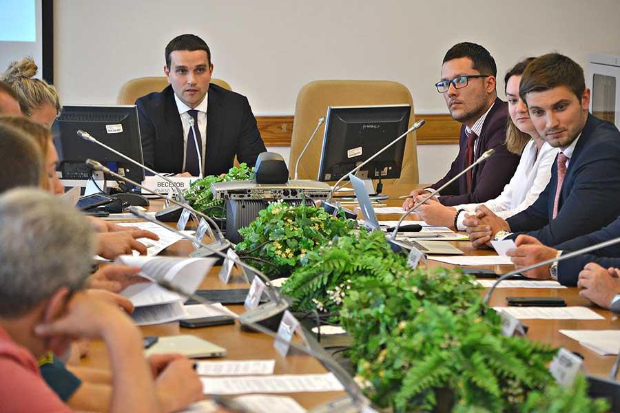заседание министра экономического развития