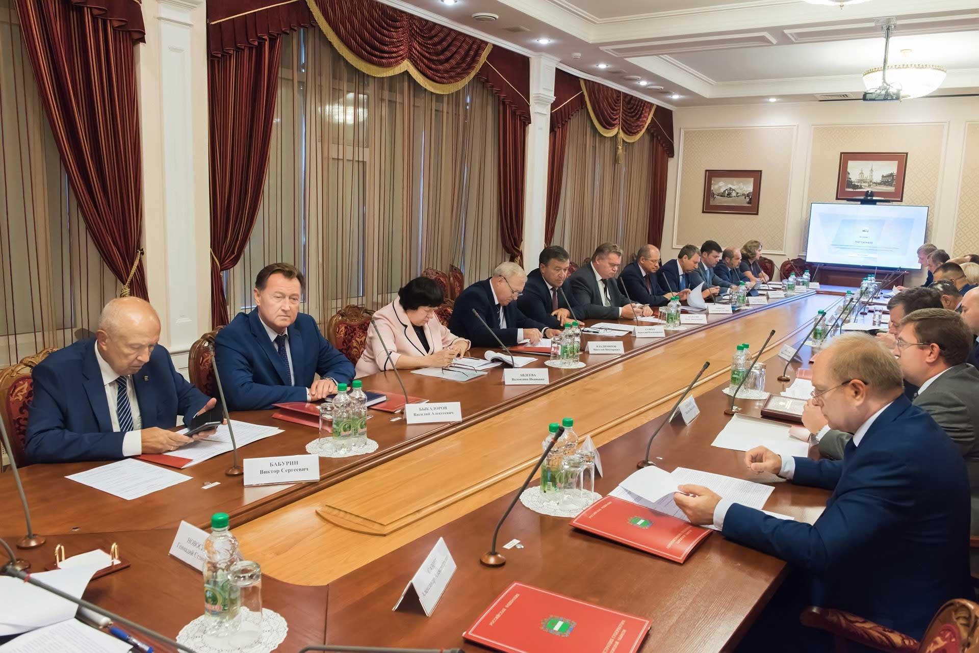 заседание региональной комиссии по противодействию коррупции