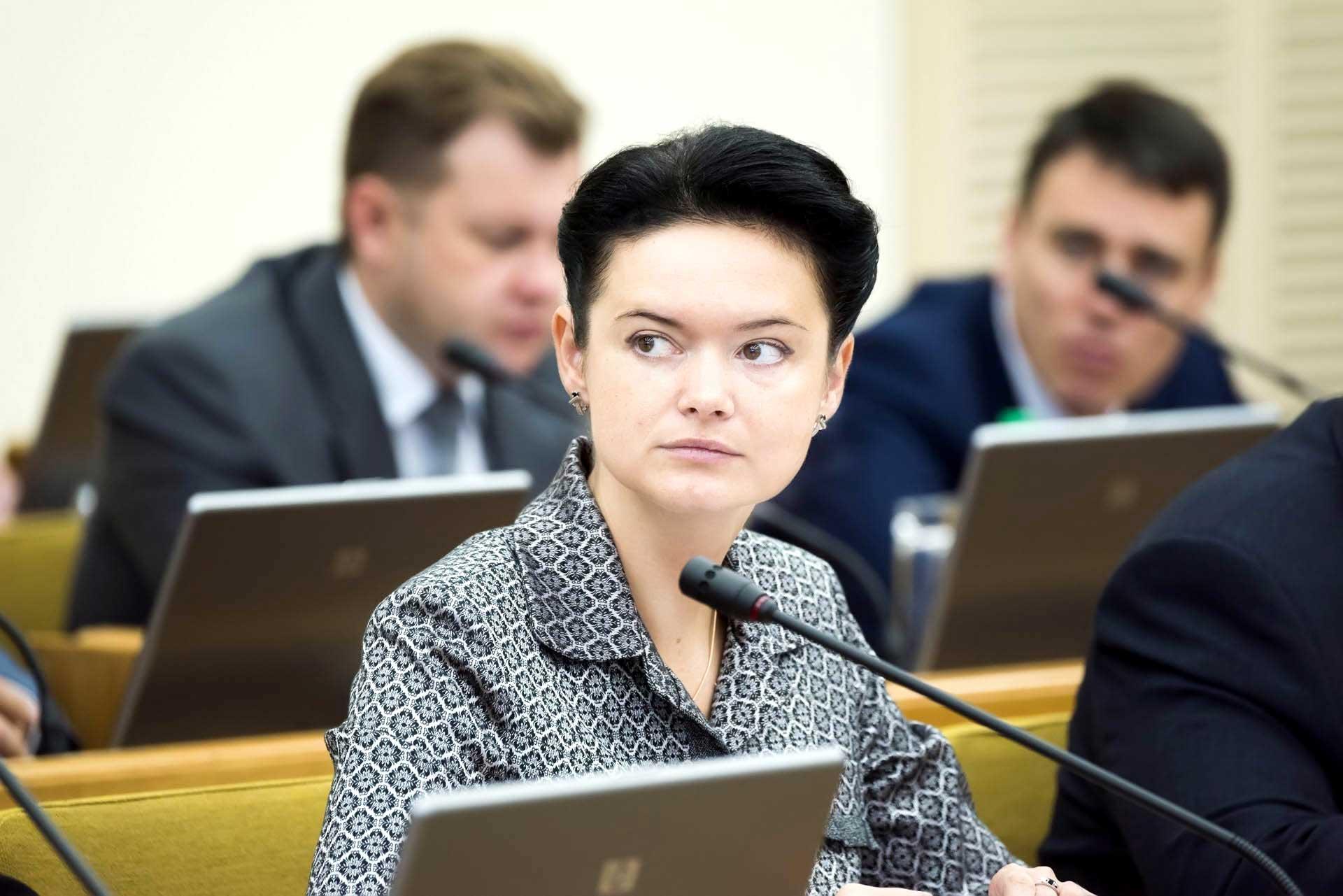 Министр природных ресурсов и экологии Калужской области Варвара Антохина