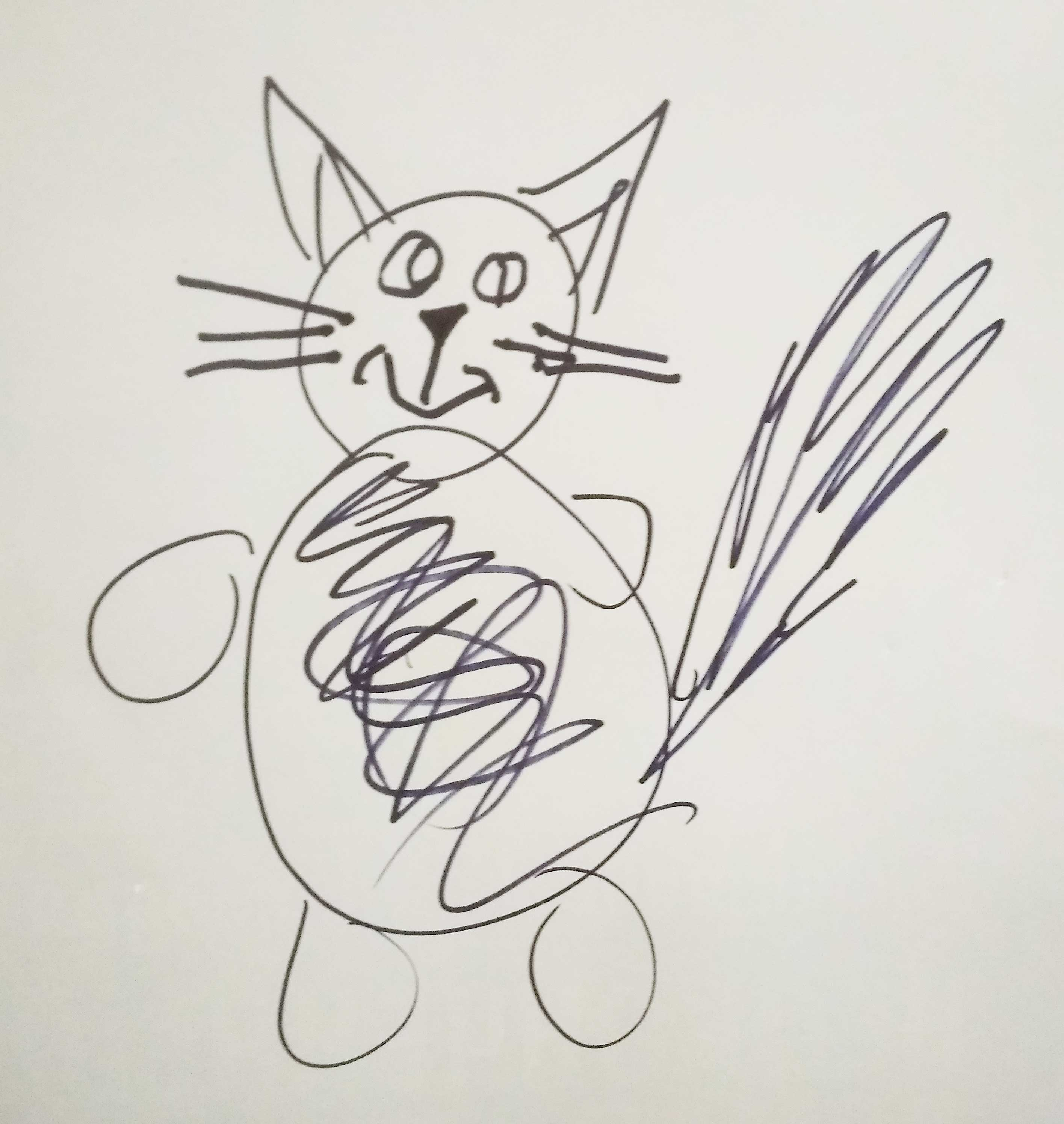 детский рисунок на конкурсе