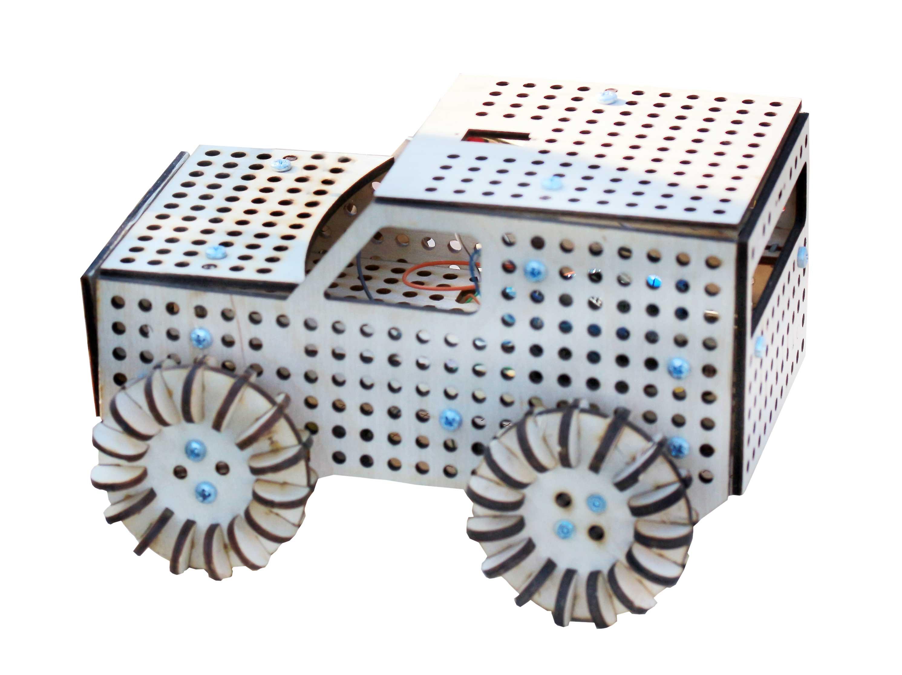 модель машинки под электричеством