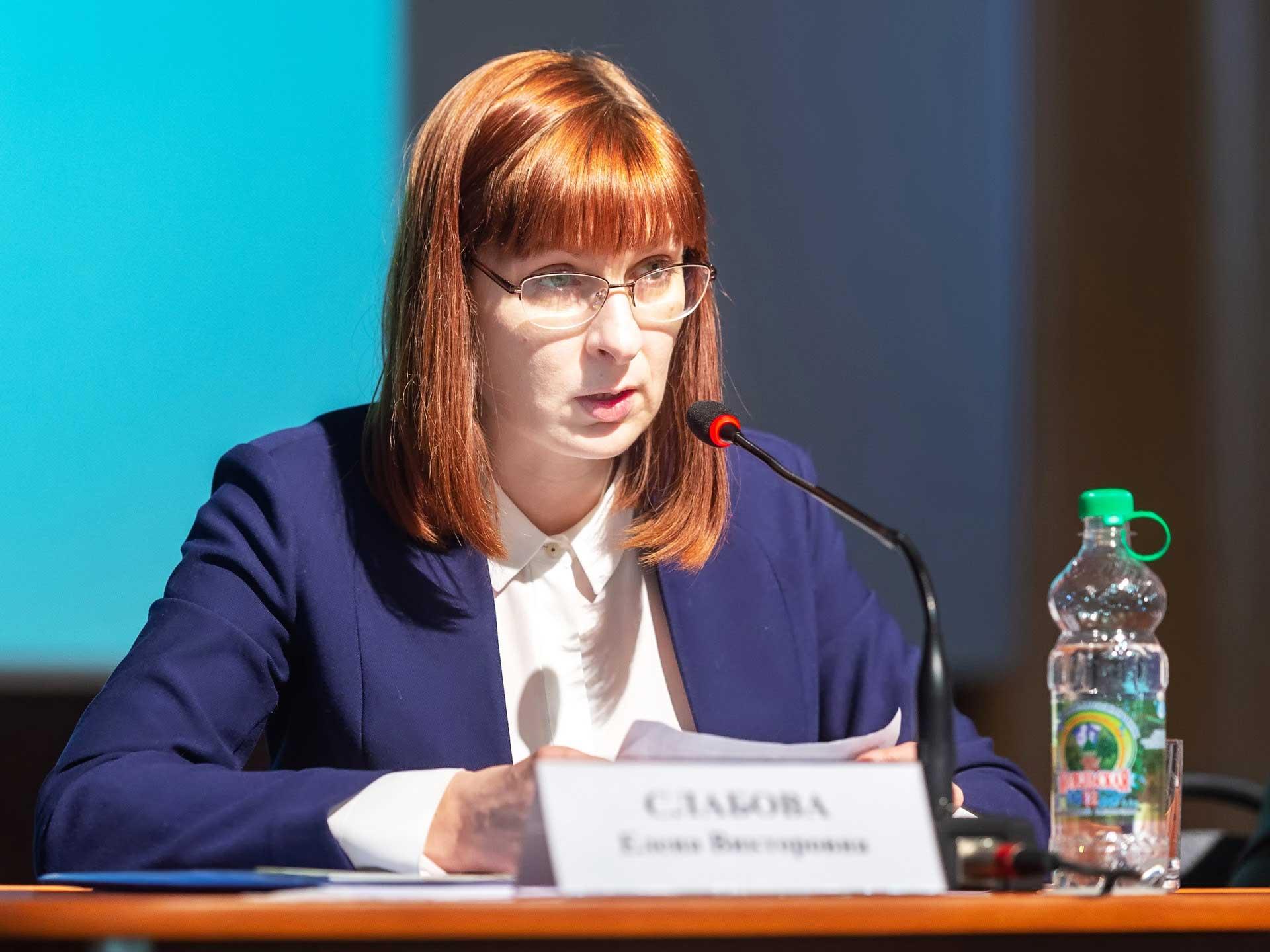 Отчет Елены Слабовой