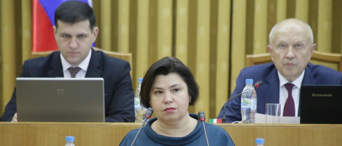 На снимке Татьяна Романова