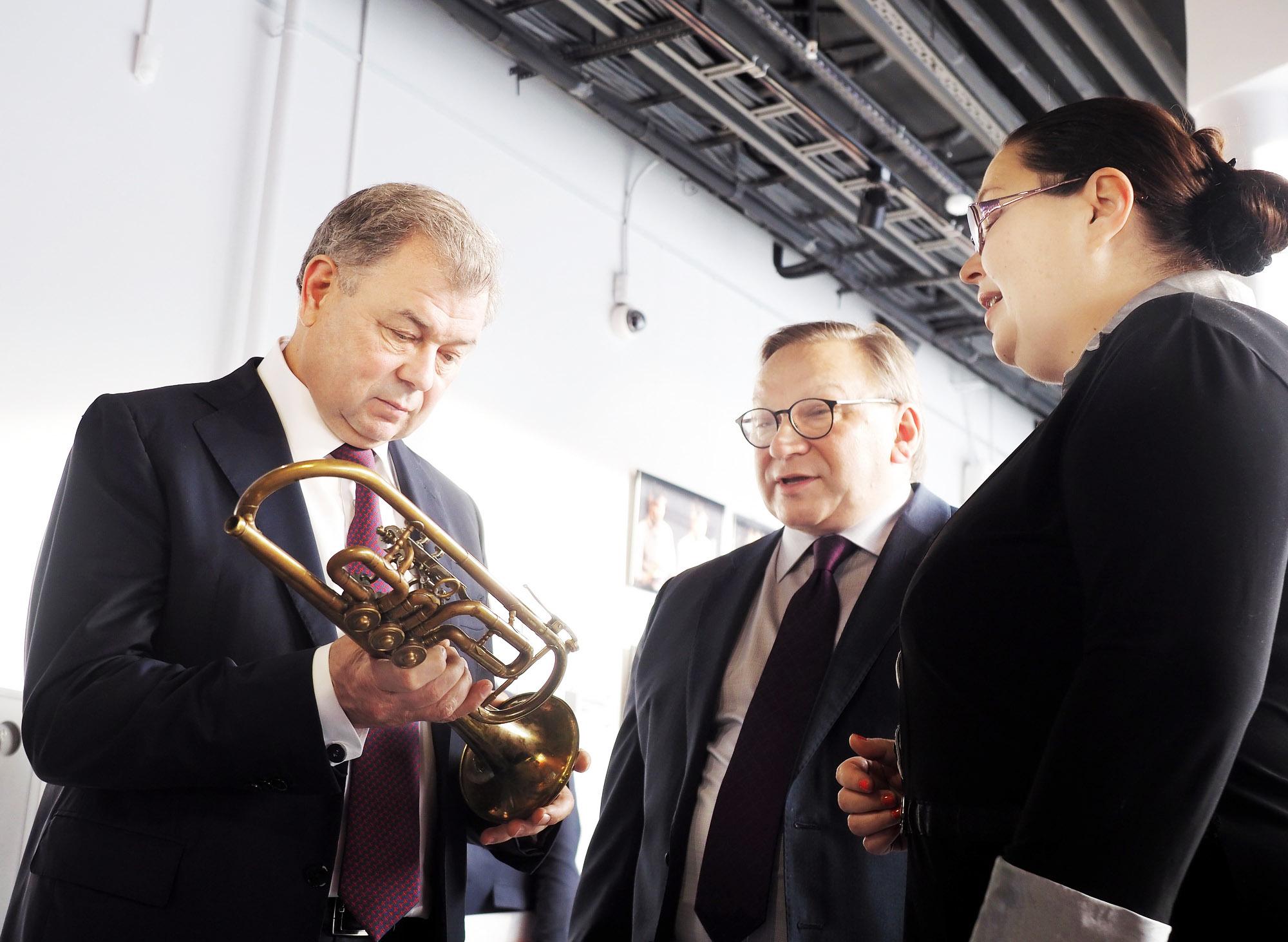 Анатолий Артамонов о развитии культуры
