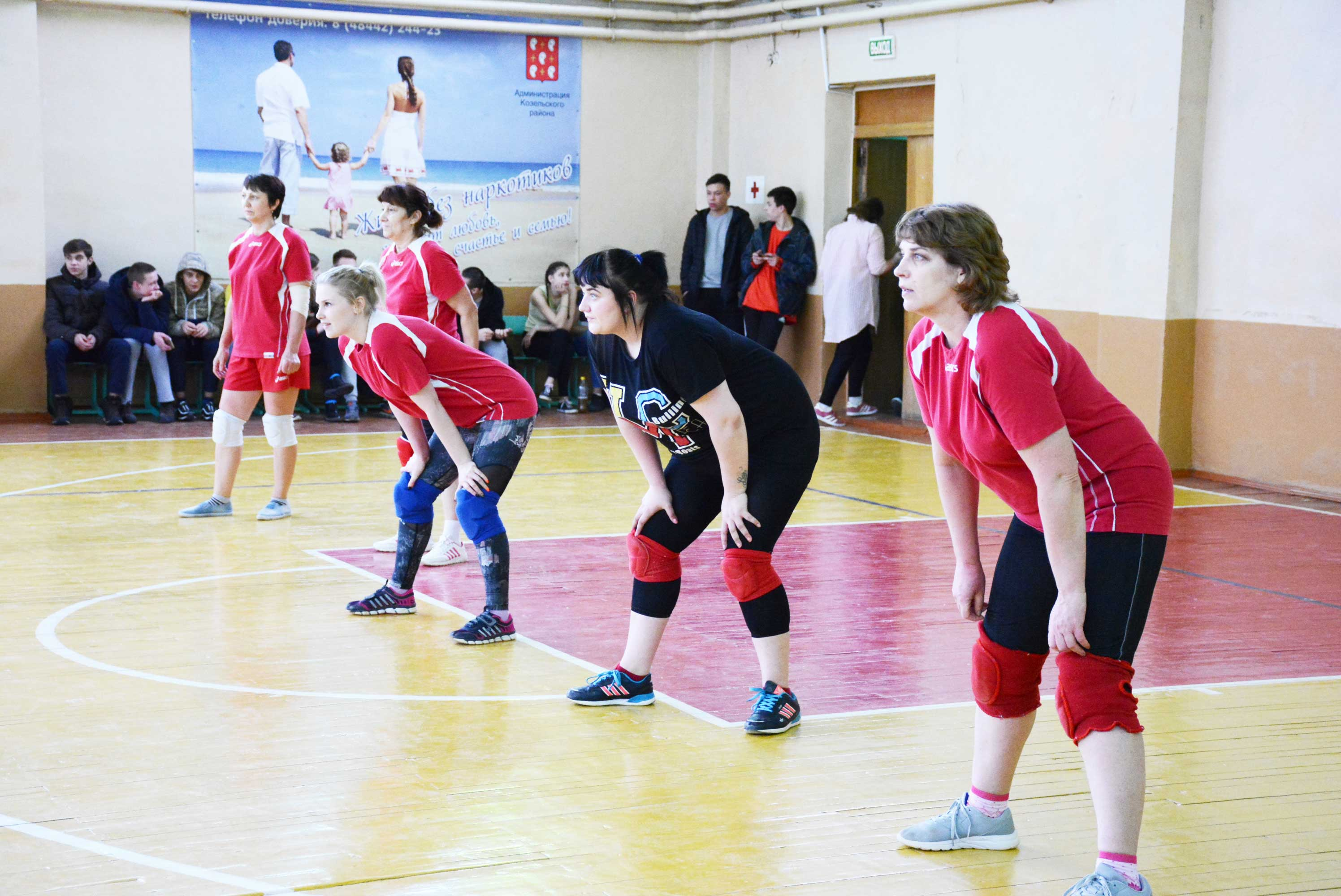 женская команда по волейболу
