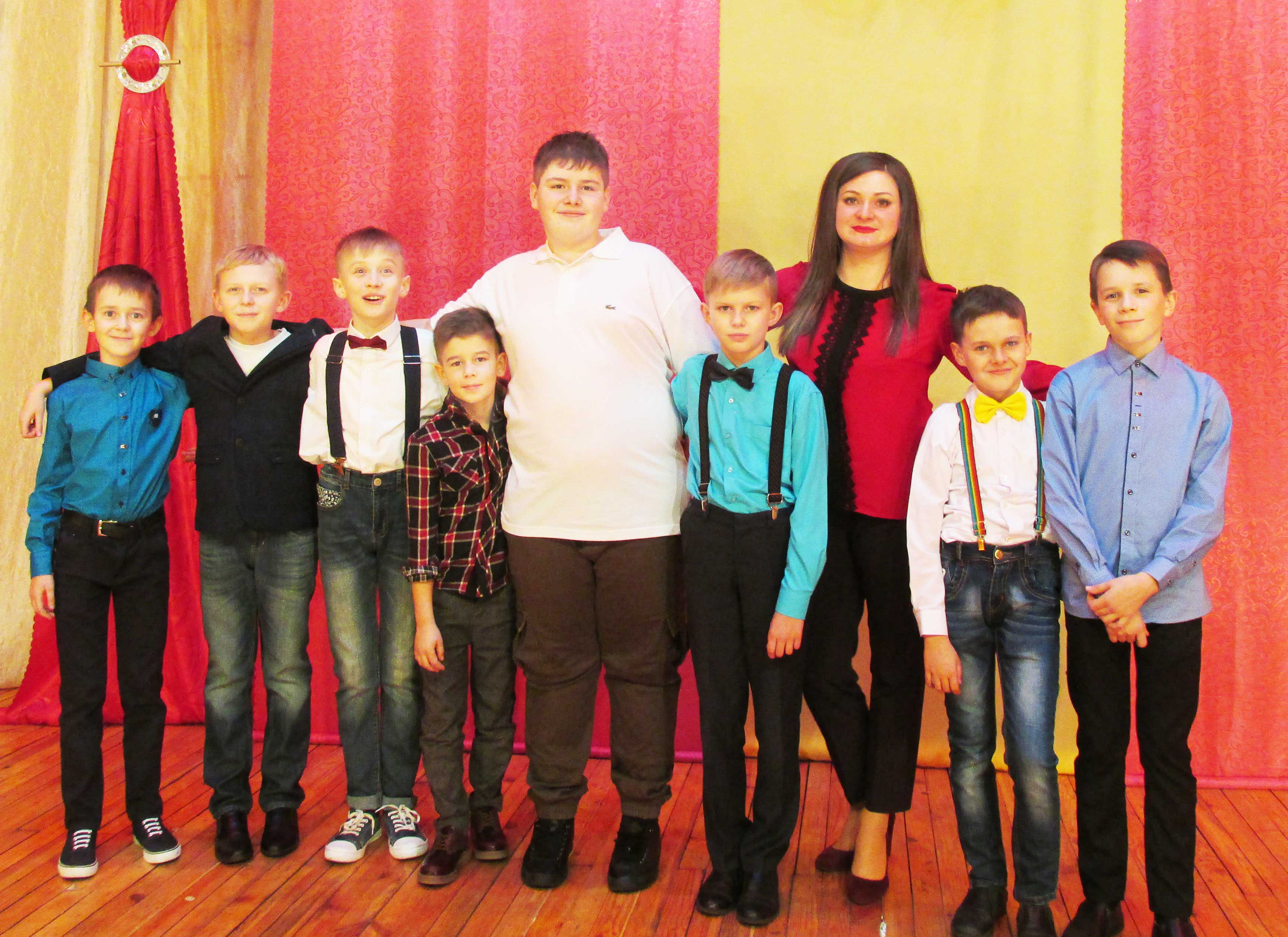 Мальчики из «Азбуки театра»