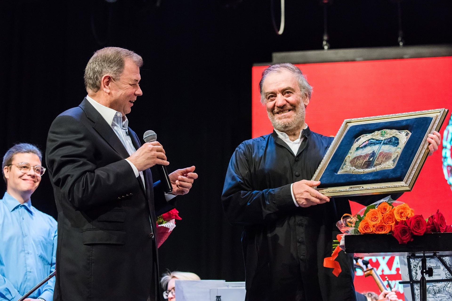 Валерий Гергиев и Анатолий Артамонов