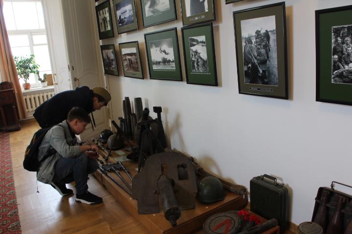 Выставка, посвященная Дню Победы