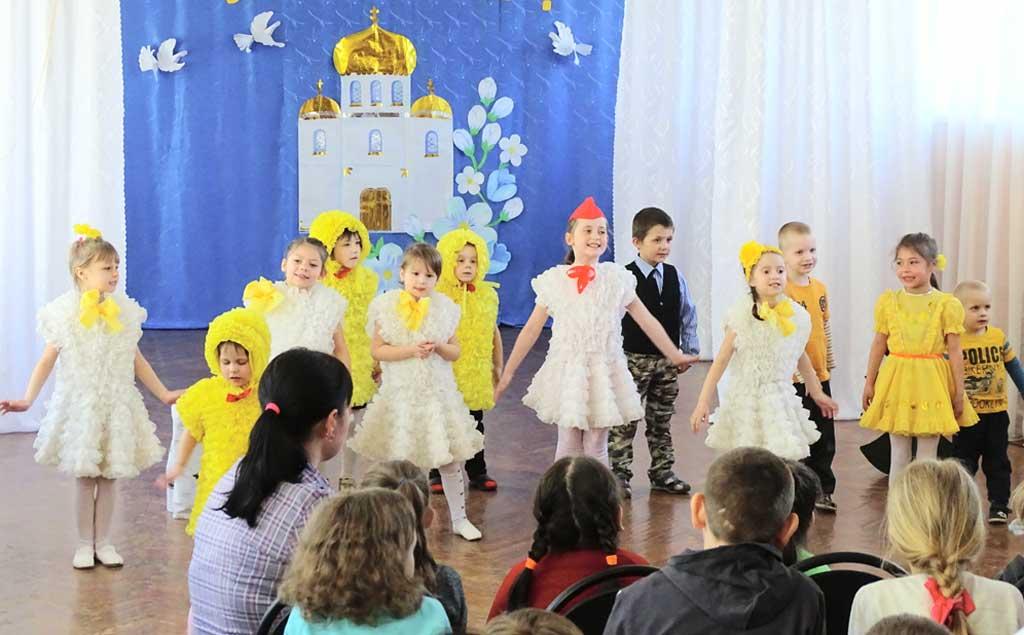 Православная Пасха в детском центре