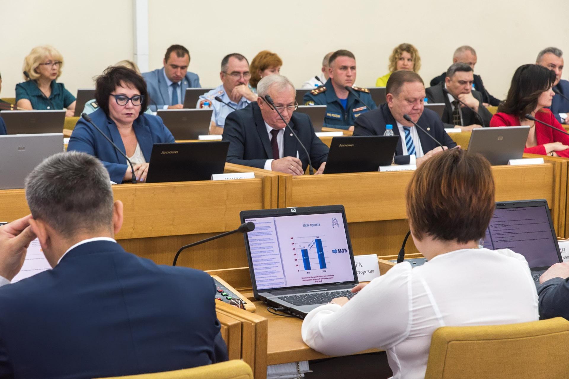 заседание областного кабинета министров