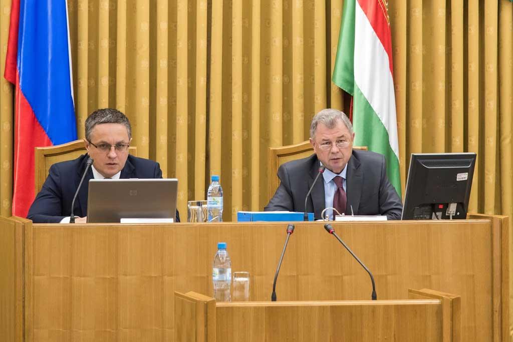 Калуга. Заседание регионального кабинета министров