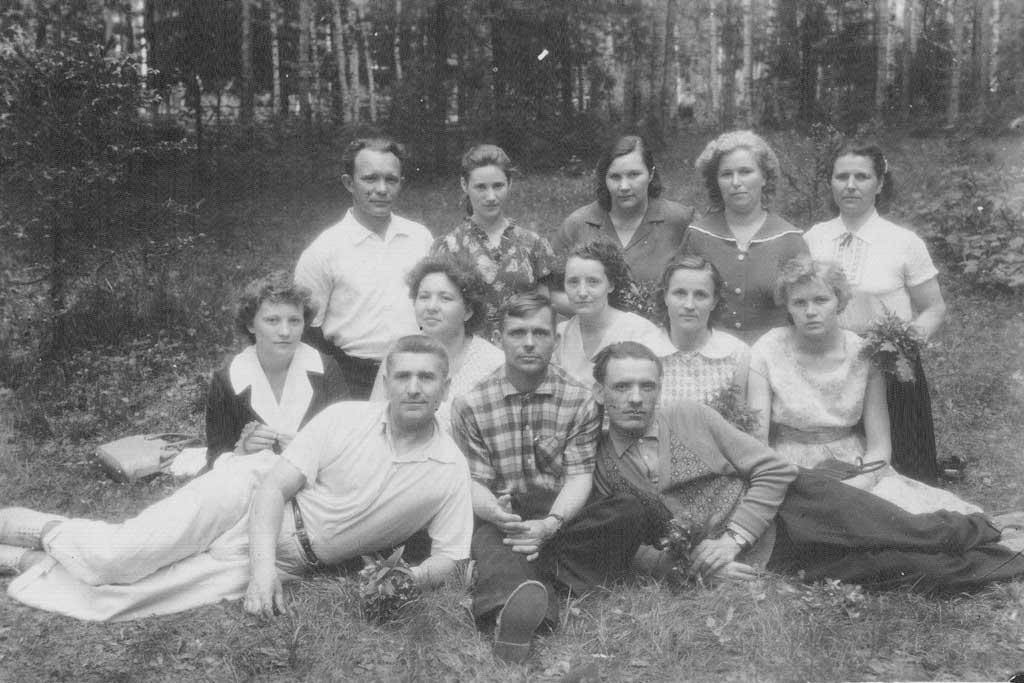 Квартиру Суховым дали только в 1957 году