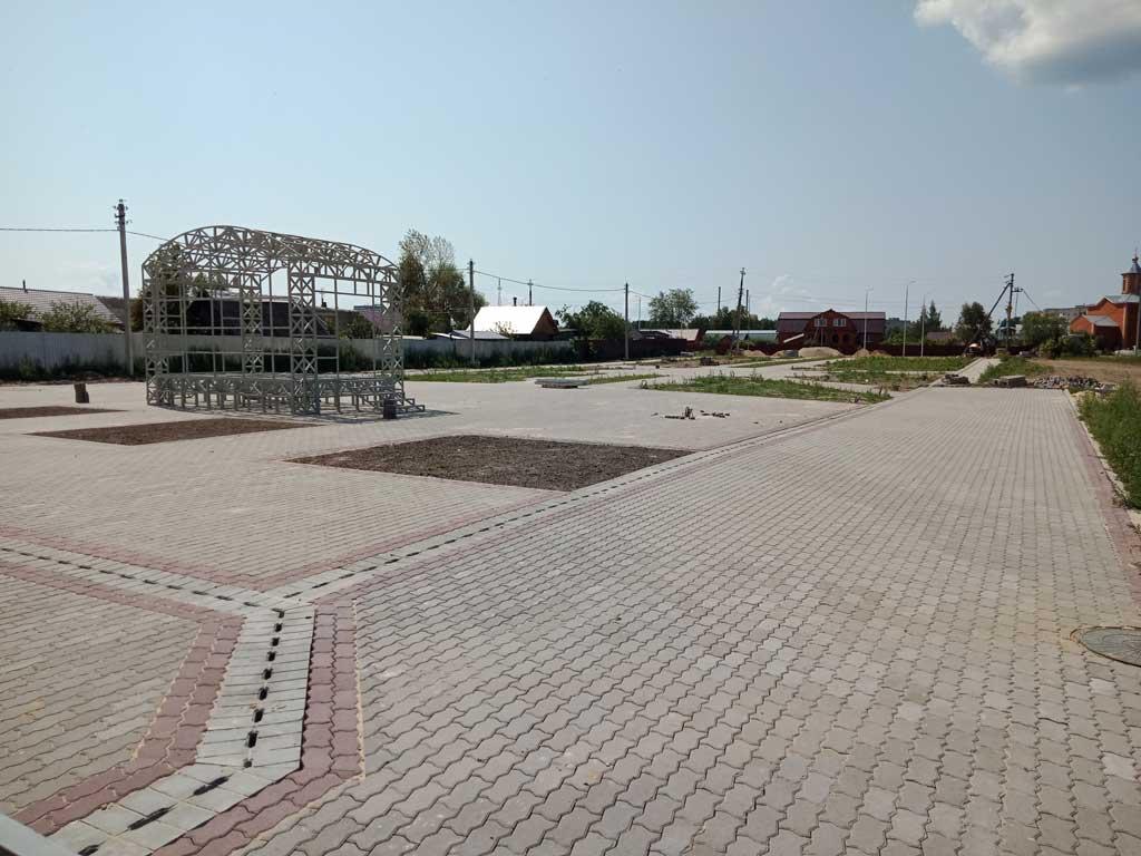 Строительная площадка у «Горняка»